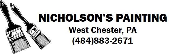 Nicholson's Painting Logo